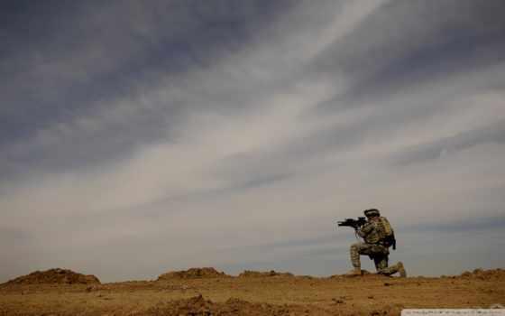 rifle, sniper, sky