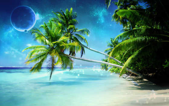 пляж, free, full