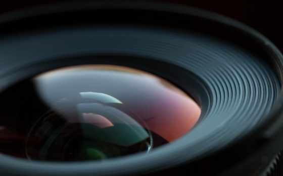 растровый, оптика, объектив