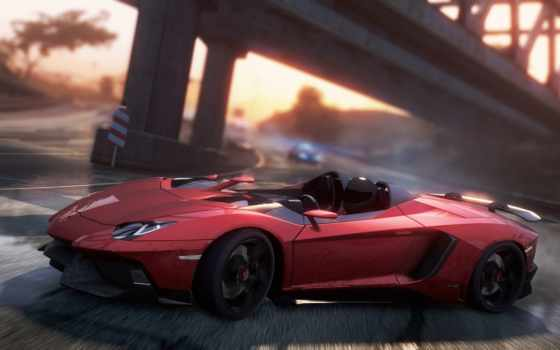need, lamborghini, скорость, самый, wanted, aventador, games,