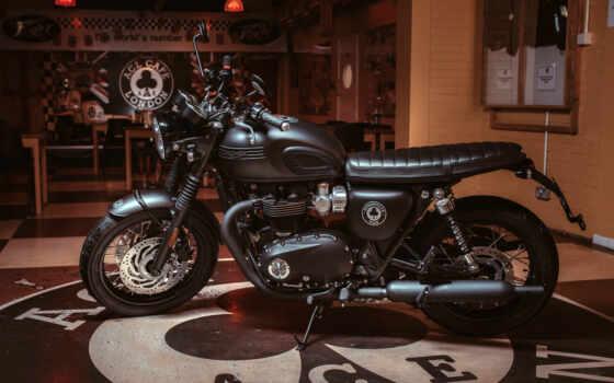 triumph, bonneville, ace, мотоцикл,