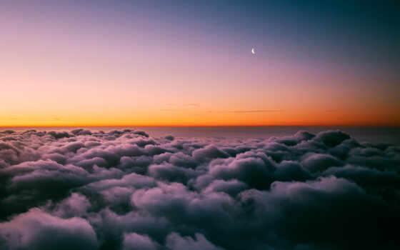 облако, компьютер, poristyi, more, landscape, небо, permission, оригинал