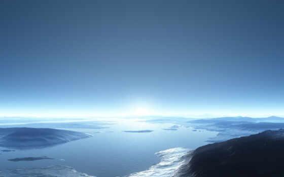 горизонт, залив