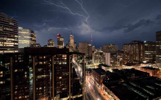 небо, тучи, lightning Фон № 68109 разрешение 1920x1200