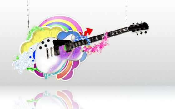 музыка, гитара, колючей