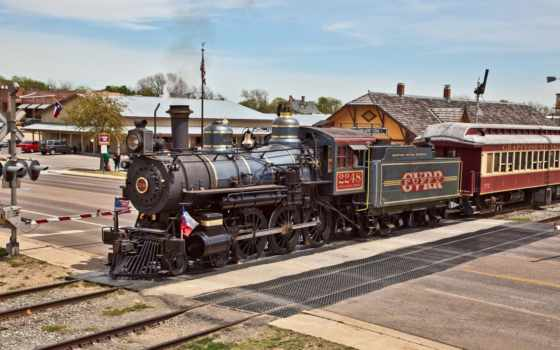поезд, паровоз, steam