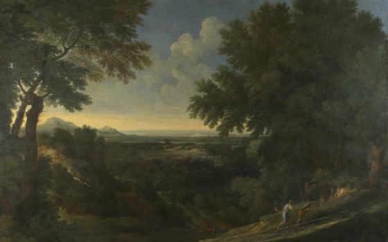 gaspard, dughet, landscape, гаспар, дюге, лондонская, национальная, прохождение,