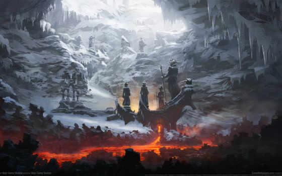снег, art, fantasy