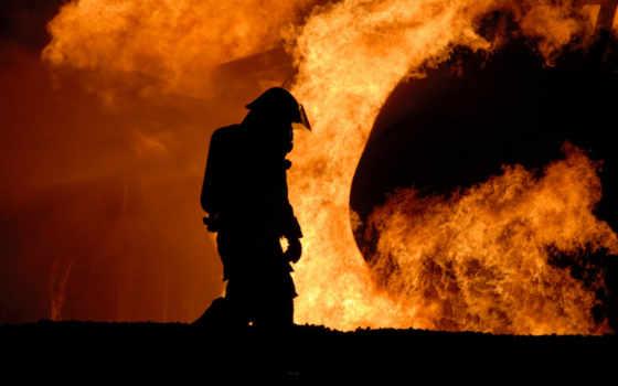 firefighter, огонь, desktop
