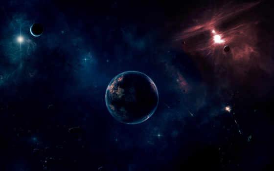 cosmos, planet, планеты, universe, abyss, спутник, звезды,