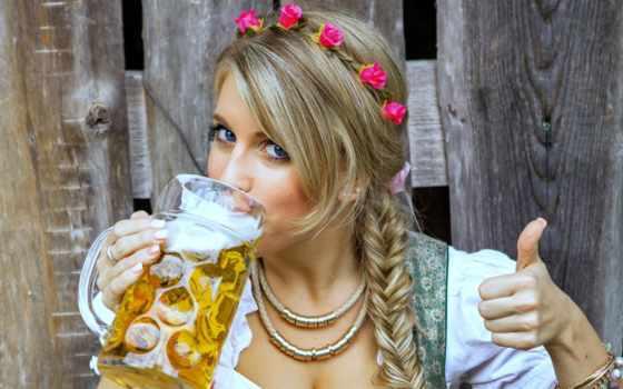 пива, oktoberfest, пиво, devushki, девушка, waitress, стоковые, кружка, униформа, desktop,
