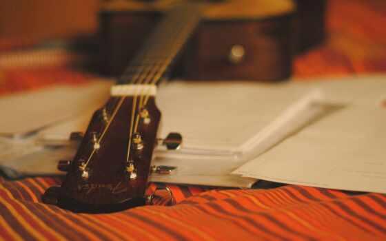гитара, музыка, акустическая, desktop, strings, white,