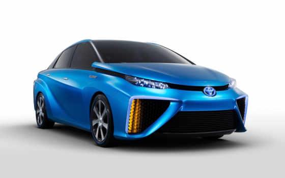 toyota, fuel, клеточка, new, vehicle, car, fcv, водород, concept,