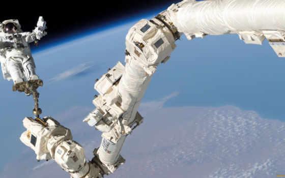 spatiale, станция, russe, internationale