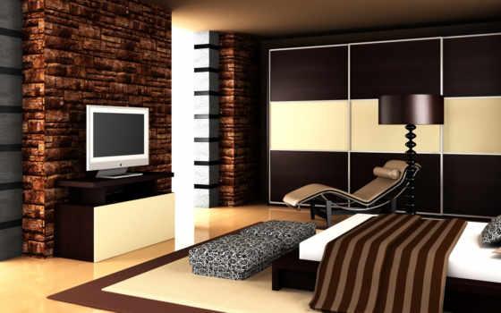 интерьер, мебель, design, тв, интерьеры, современный, под, интерьера,