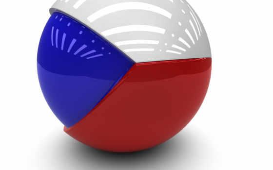 чехии, флаг, республика