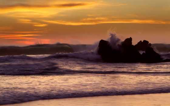 море, waves, пейзажи -, природа, water, ocean, скалы, волна, камень, rock, побережье,