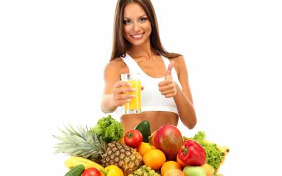 еда, продукты, ананасы, диета, виноград, glass, девушка, яблоки, juice, огурцы, перец,