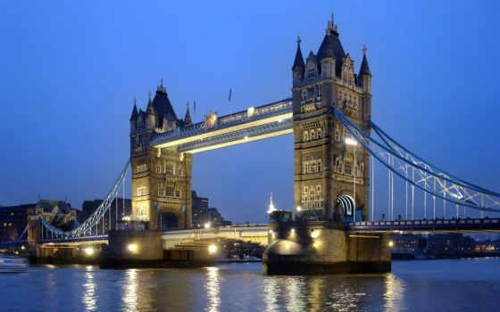 bridge, tower