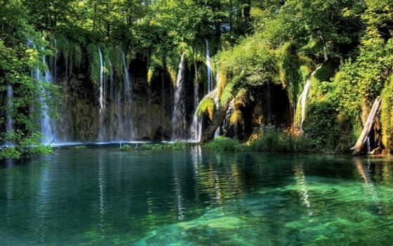 плитвицкие, озера, хорватии Фон № 64713 разрешение 1920x1080