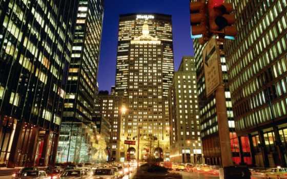 нью, york, ночь Фон № 98860 разрешение 1600x1200