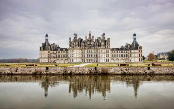 chambord, castle, french, шамбор, замки, château, chateau,