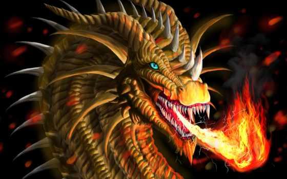 дракон, огнедышащий, искусства, зубы, взгляд, дома, товар, monster, breath, aliexpress,