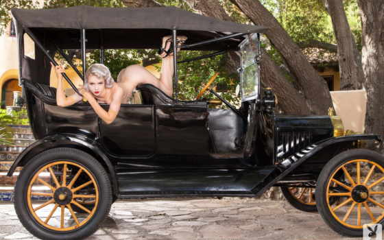 antique, ан, car,