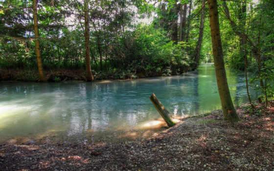 природа, река