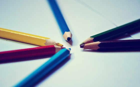 карандаши, цветные, colorful, множество, янв, разноцветные, точеные, ежик,