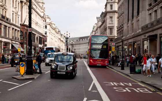 london, улица, взгляд, click, биг, bus, улицы, лондона, здания, движение,