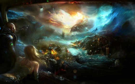 yam, apocalyptic, fantasy
