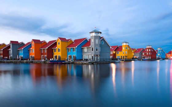 нидерландов, красивые, самые, места, holland, гронинген, города, гронингена, голландии,