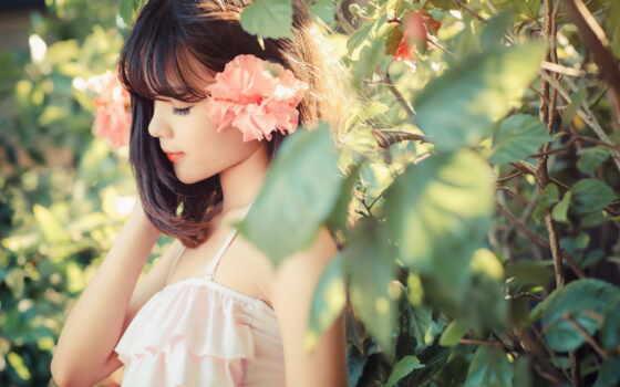 лицо, женщина, природа, asian, девушка, akkor, категория, модель, май, pinterest, песнь