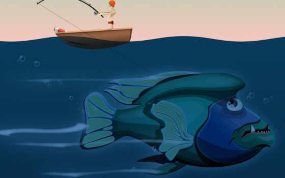 рыба, вектор