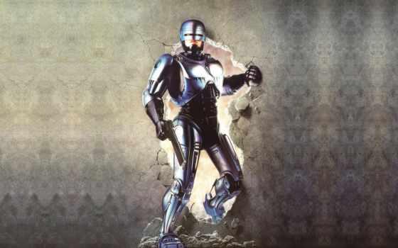 робот, полицейский, robocop