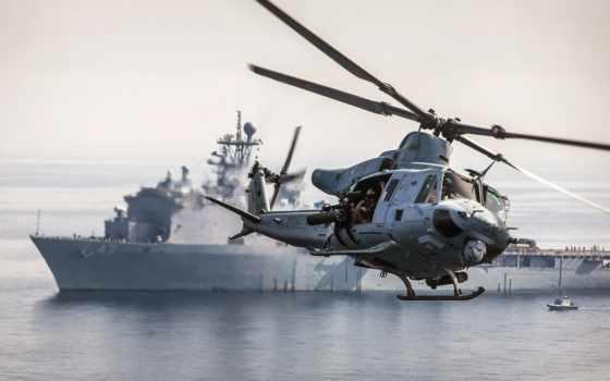 военный, вертолет, bell