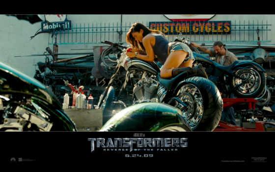 трансформеры, меган, фокс, месть, transformers, падших,