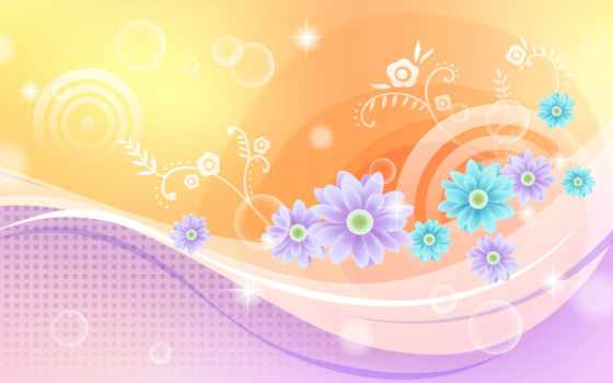 оранжевый, графика, главная, abstract, мар, шпалери, white, cvety, любимые, компьютер,