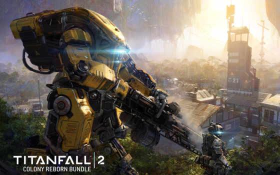 titanfall, игры, new, новая, колония, мар, воители, robot, будет, glitch, фантастика,
