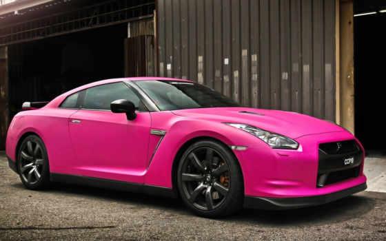 автомобили, nissan, розовый, gtr, розовые, duvar, color, матовые, kağıtları, подробнее, pinterest,