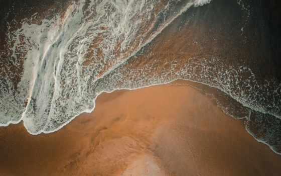 , песок, вода, Геологическое явление, волна, пространство, мир, пляж,