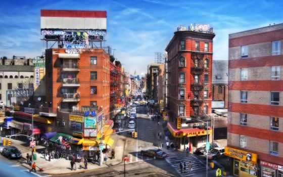 chinatown, nyc, скачать, обои
