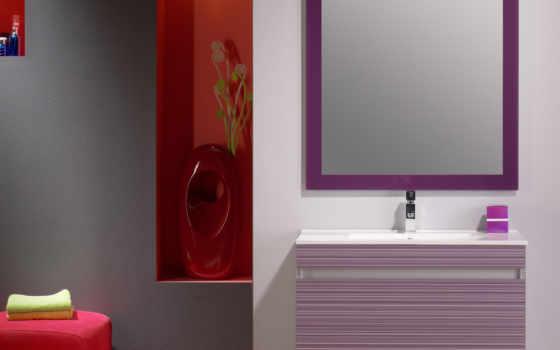 комнаты, ванной, тонах