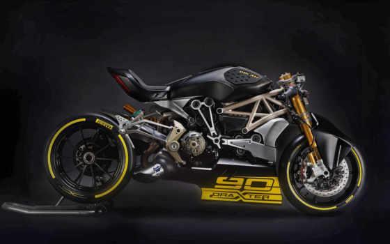 ducati, draxter, двух, янв, концептуальных, скремблеров, ошарашила, после, prezentacii, bike, мотоцикл,