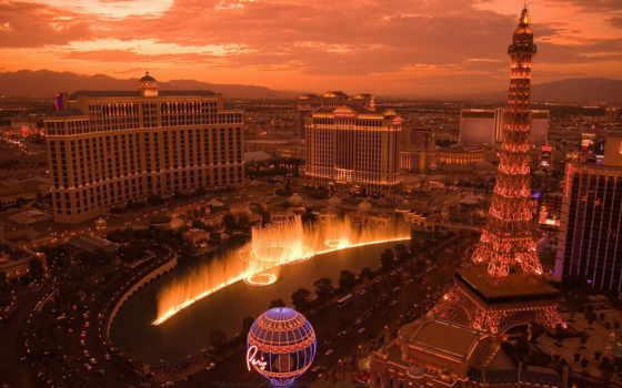 bellagio, взгляд, gorod, zakat, небо, красивые, ночь, london, оранжевый, красиво,