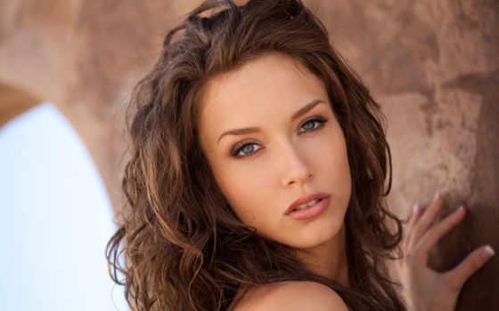 morgan, malena, взгляд, brunette, кудри, devushki, плакат, актрисы,