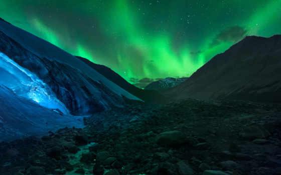 art, borealis, aurora, canvas, garcia, jesus, природа, stock,