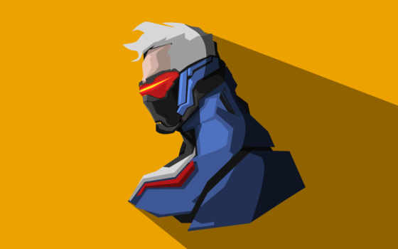 overwatch, minimal, artwork
