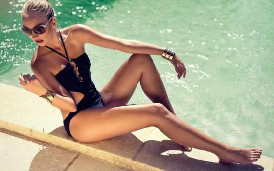 swimwear, art, women,